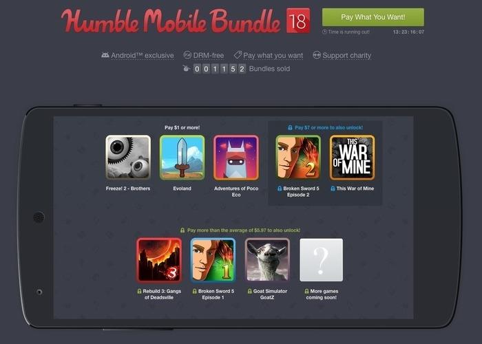Humble Mobile Bundle 18