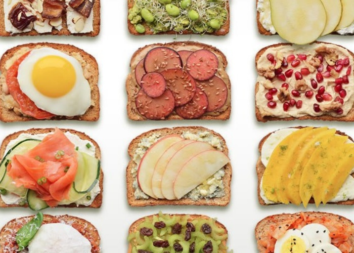 Ingredientes sándwich deportivo