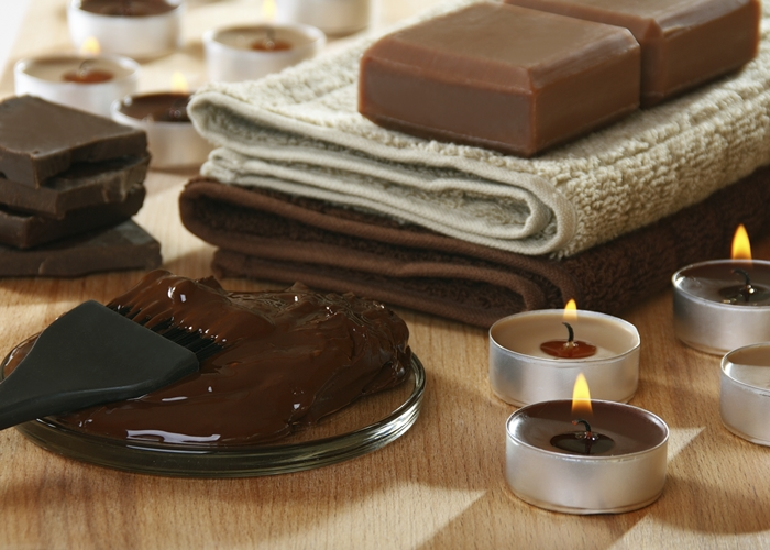 Sesion de chocolaterapia