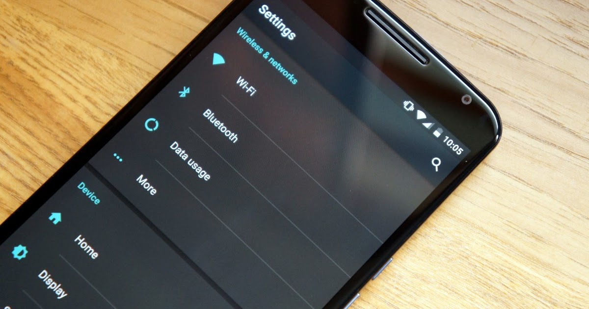android-m-tema-oscuro
