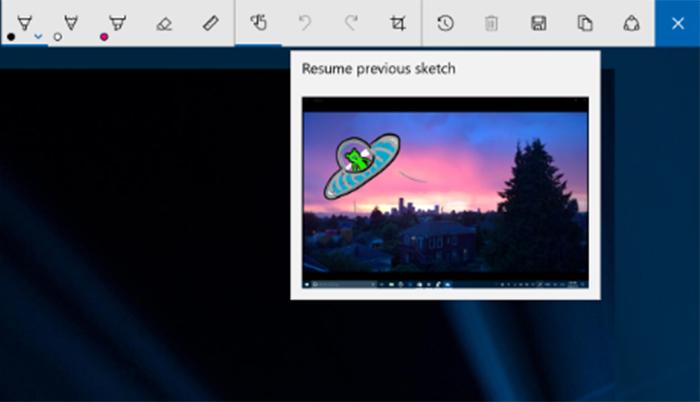Nueva función de captura de pantalla
