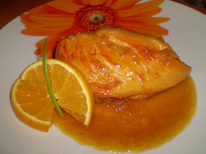 suprema-de-pollo-a-la-naranja