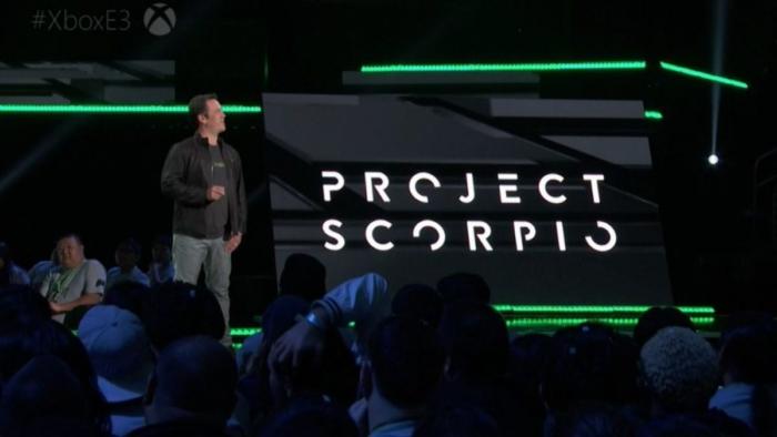 project-scorpio presentación E3