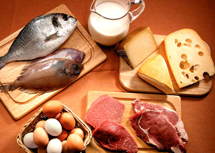 Variedad proteínas