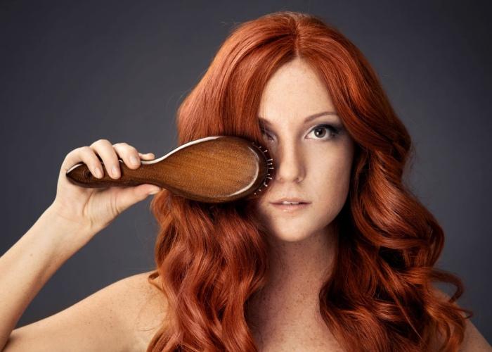 Caída cabello frutas