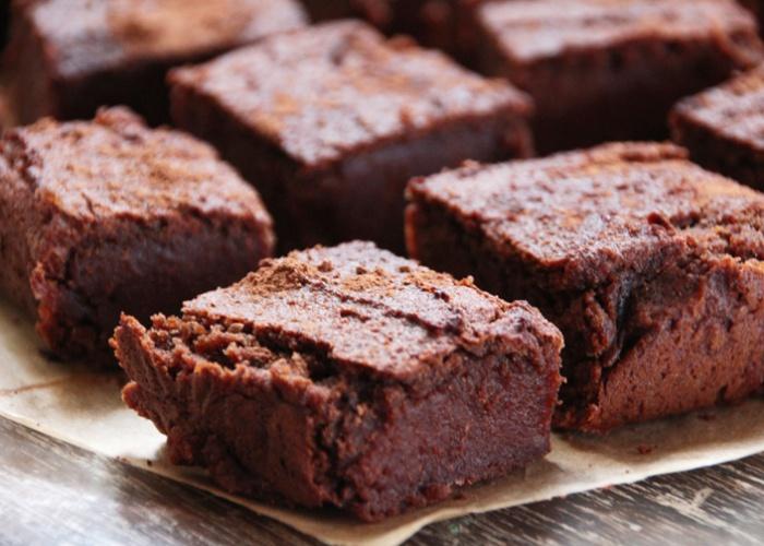 Brownie bajo grasa