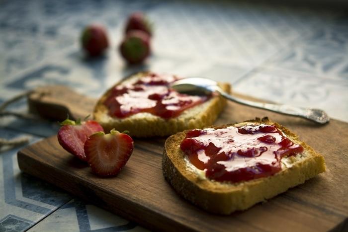 Mermelada fresas
