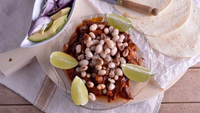 Taco legumbres