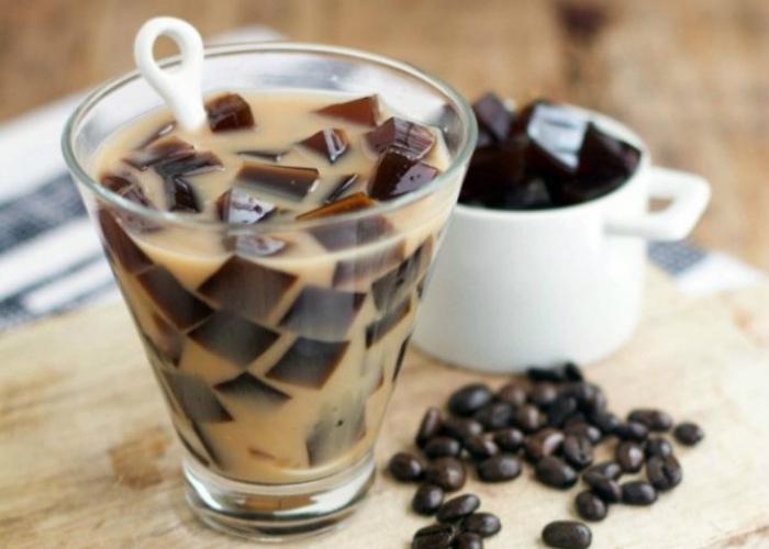 Gelatina café