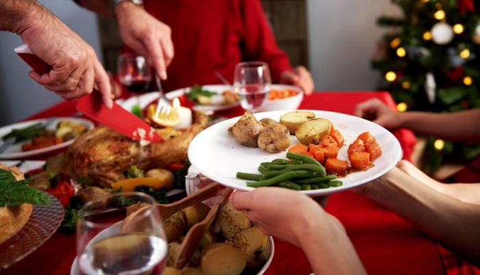 Comer saludable Navidad