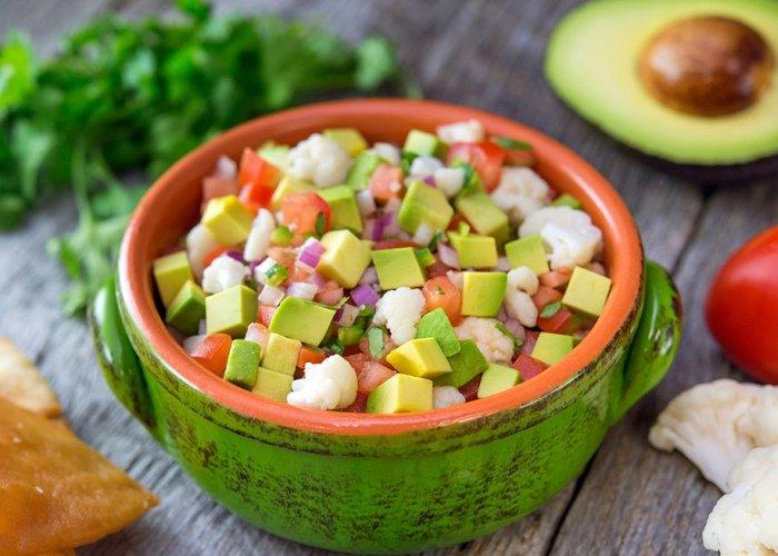Ceviche coliflor