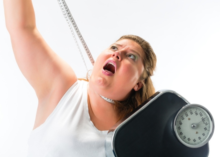 Persona boicot peso