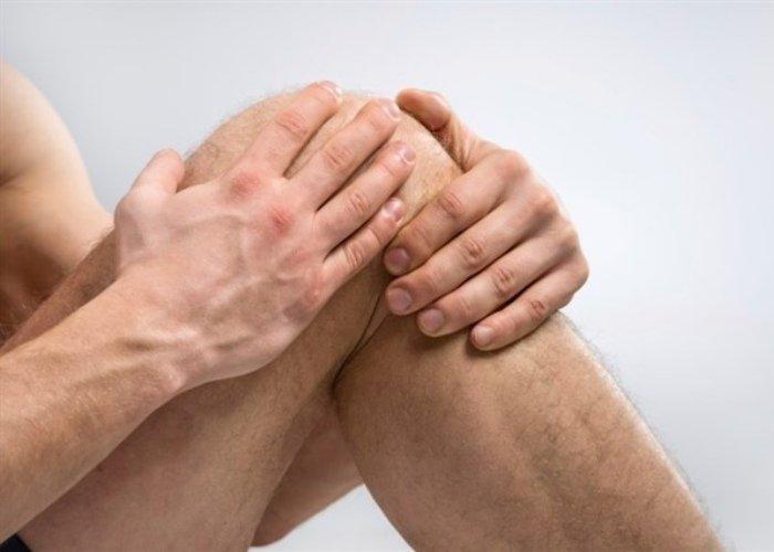 Persona rodilla artrosis