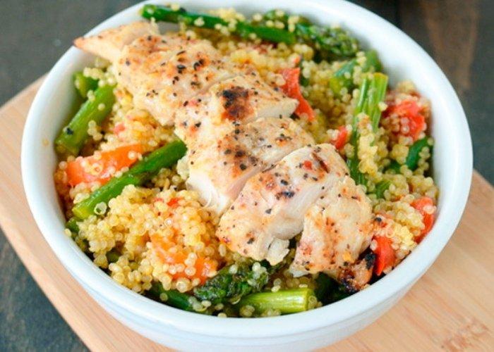 Pollo quinoa