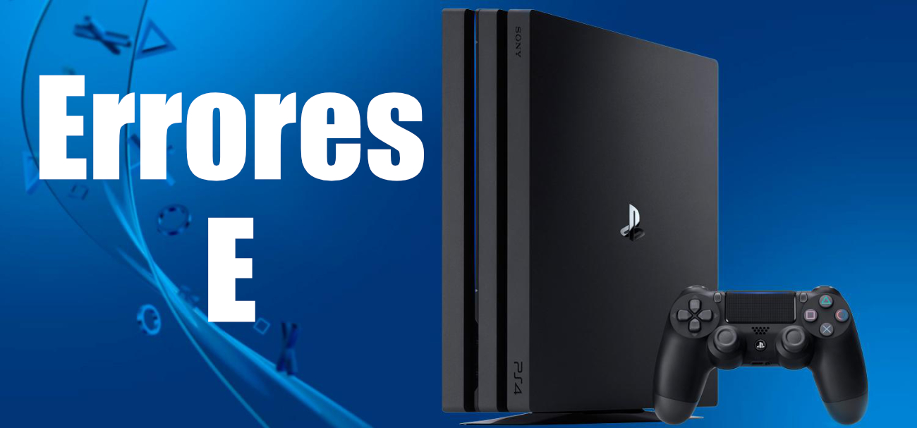 Codes d'erreur de type E sur PS4
