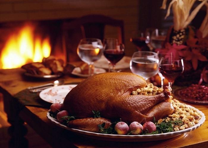 Cena de Navidad muy completa