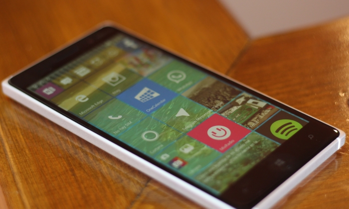 Pantalla Windows 10 Mobile