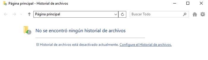 Recuperación archivos Windows 10