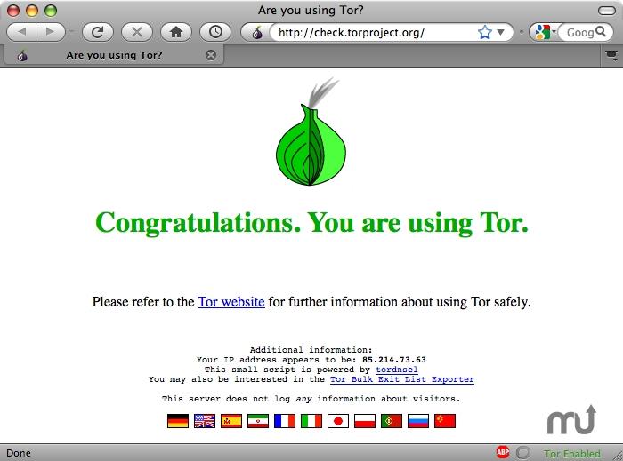 navegador Proyecto TOR