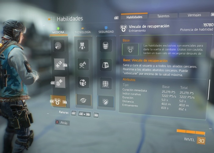 The Division habilidades