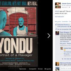 Guardianes de la Galaxia 2 - Acción promocional con Yondu