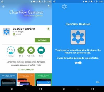 clearview-gestures-instalación