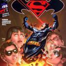 Batman vs Superman - Imagen de uno de los 16 enfrentamientos de Batman y Superman en cómics