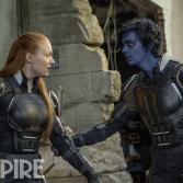 X-Men Apocalypse - Jean Gray y Diablo en los 80