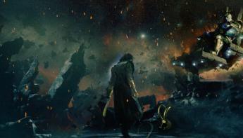 The Avengers: Infinity War - Loki y Thanos en Los Vengadores