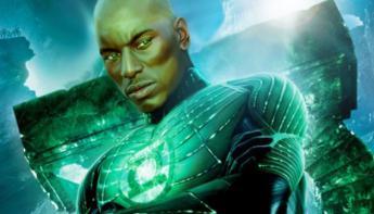 Justice League - Montaje de Tyrese Gibson como Green Lantern