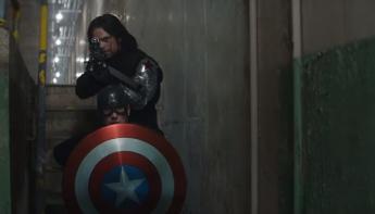 Captain America: Civil War - Soldado de Invierno y Capitán América