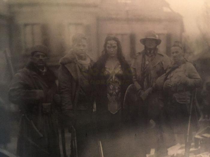 Así es la fotografía de Wonder Woman en la I Guerra Mundial