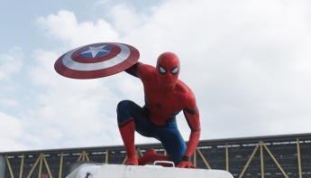 Spiderman: Homecoming - Spiderman en Civil War