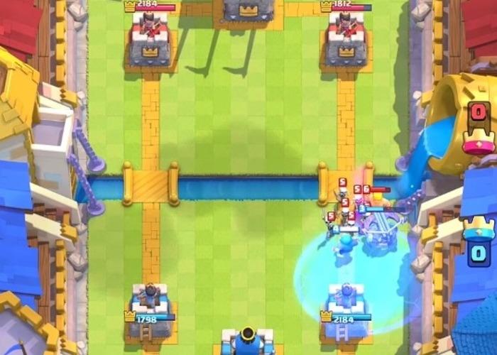 Clash Royale hechizo hielo