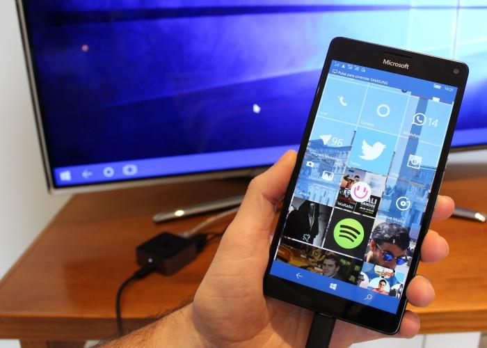 Principal funcionalidad de Windows 10 Mobile