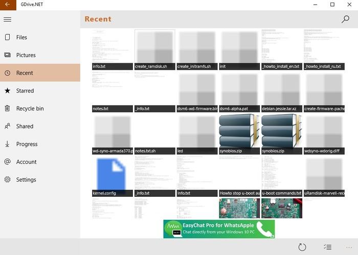 GDrive.NET cabecera