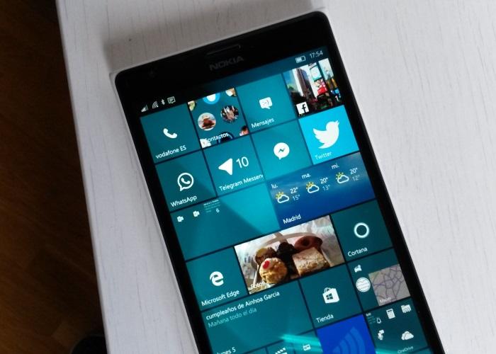 Nokia lumia 1520 windows 10