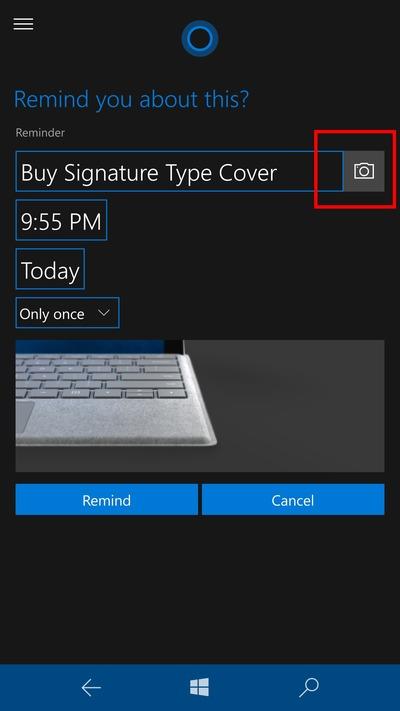 Recortadorios Windows 10 Mobile Redstone