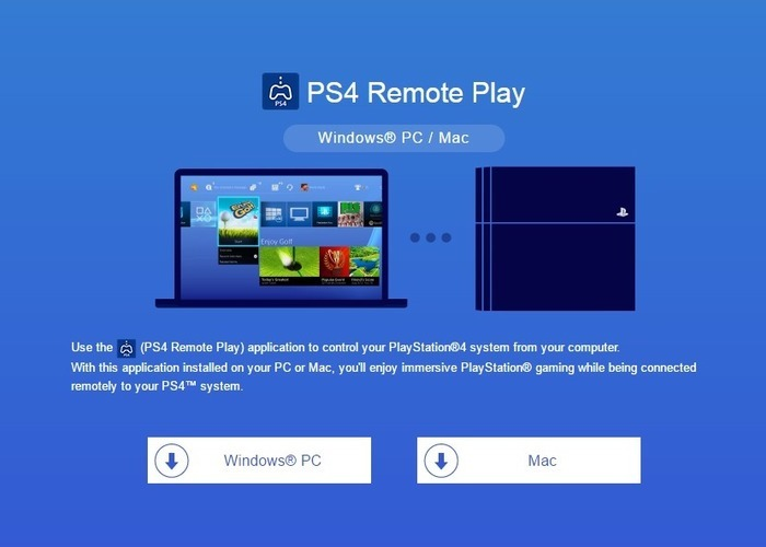 Remote Play Playstation4