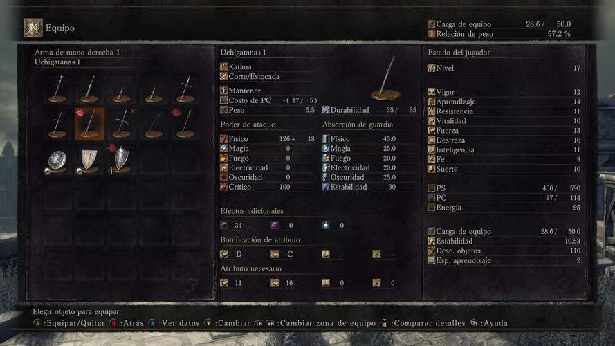 Uchicatana Dark Souls 3