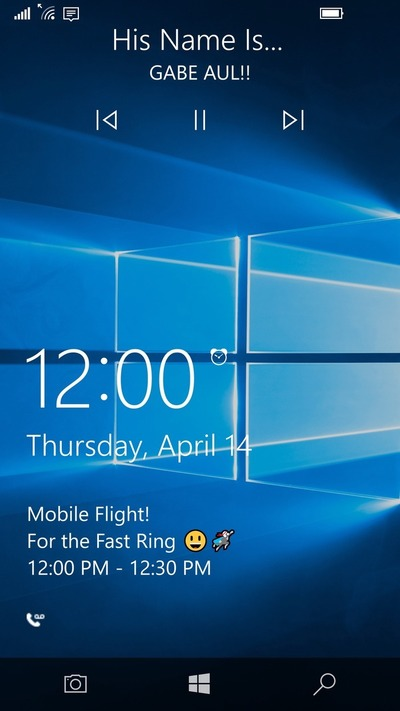 Windows 10 Mobile Redstone pantalla bloqueo mejoras