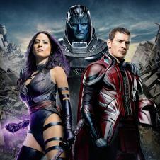X-Men Apocalypse - Apocalypse, Magneto y Psylocke