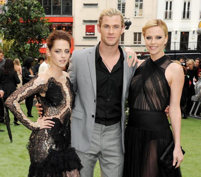 Kristen Stewart, Chris Hemsworth, charlize theron, blancanieves, snow white, el cazador, reina de hielo, secuela, actriz, desear, trabajar, fantástica, protagonistas, precuela, spin-off