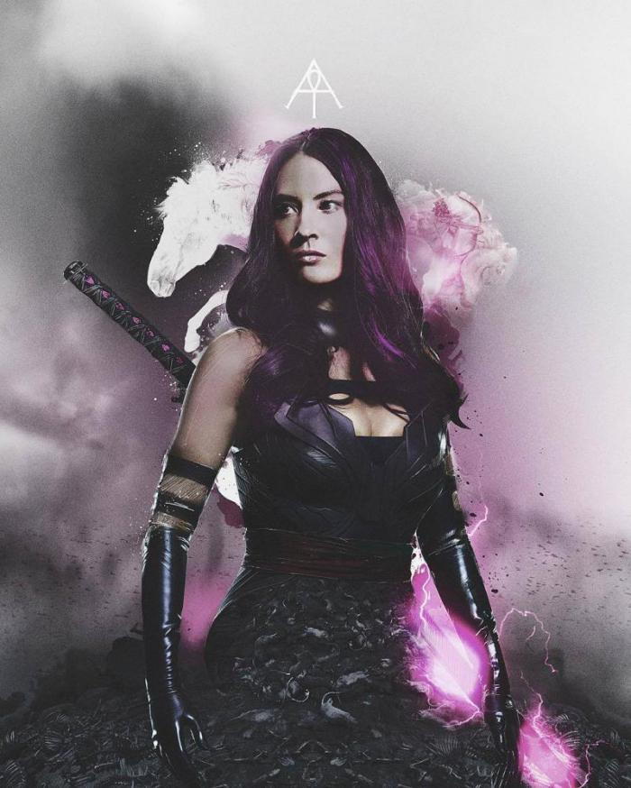 Olivia Munn como Psylocke