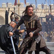 Assassin's Creed - Michael Fassbender en el rodaje de AC