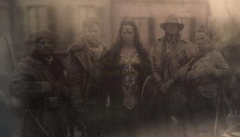 Wonder Woman y Steve Trevor en BvS