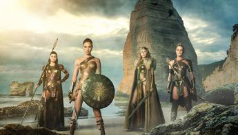 Wonder Woman y sus guerreras