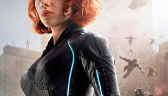 Capitana Marvel - Póster de Viuda Negra