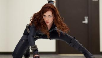 Capitana Marvel - Viuda Negra en Avengers