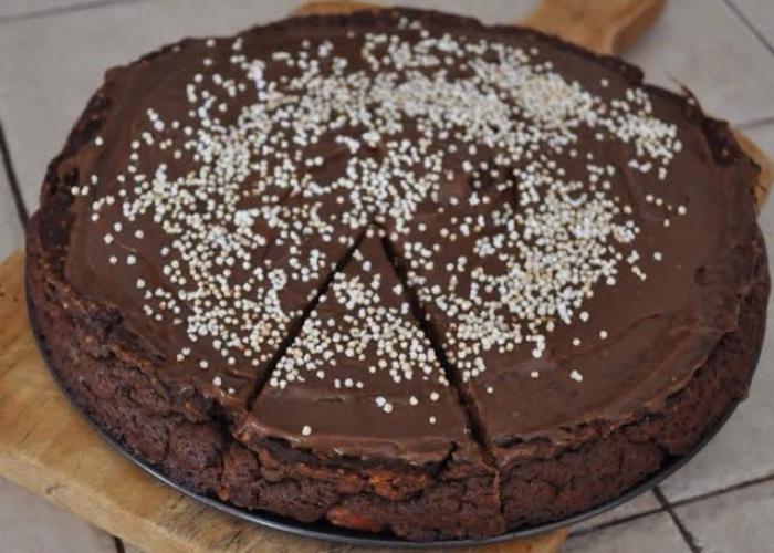 Pastel proteico chocolate